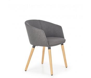 K266 - Krzesło ciemny popiel