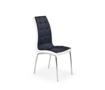 K186 - Krzesło czarno - białe