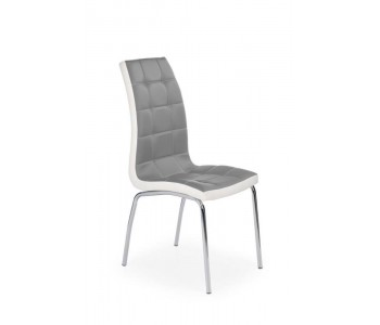 K186 - Krzesło popielato - białe