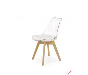 K246 Krzesło buk - transparentny