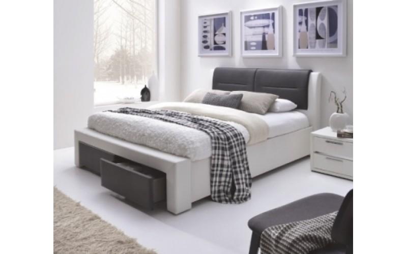 CASSANDRA S - Łóżko 140 z szufladami bez materaca
