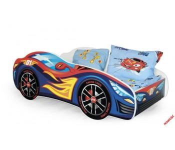 Speed - Łóżko dziecięce z materacem