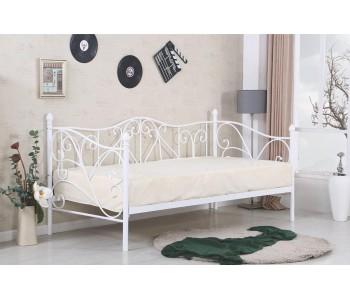 SUMATRA  90 - Łóżko białe bez materaca