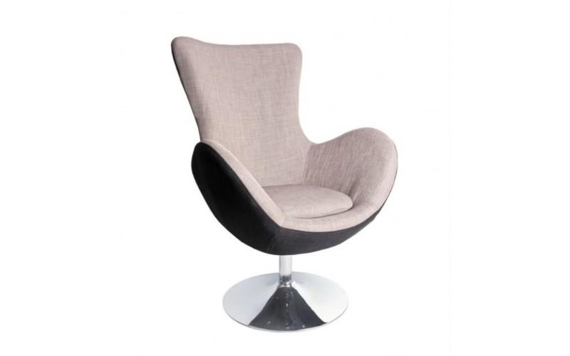 BUTTERFLY - fotel wypoczynkowy popielaty