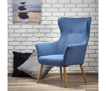 COTTO - fotel niebieski