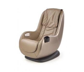 Dopio - fotel wypoczynkowy beż z funkcją masażu