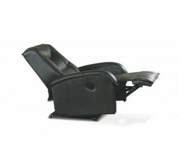 JEFF - fotel wypoczynkowy czarny