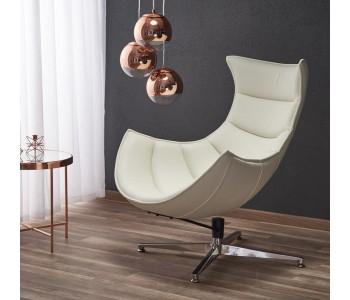 LUXOR - fotel biały