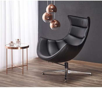 LUXOR - fotel czarny