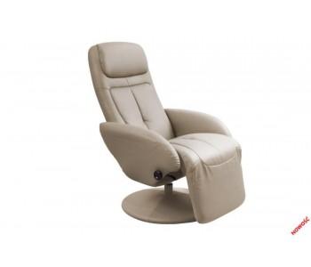 OPTIMA - fotel wypoczynkowy cappuccino