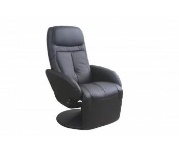 OPTIMA - fotel wypoczynkowy czarny