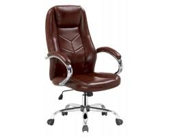 CODY - fotel obrotowy gabinetowy brąz