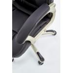DESMOND- fotel obrotowy gabinetowy czarny