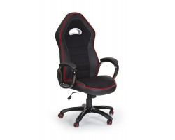 ENZO- fotel obrotowy gabinetowy czarny