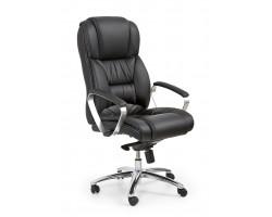 FOSTER-  fotel obrotowy gabinetowy czarny