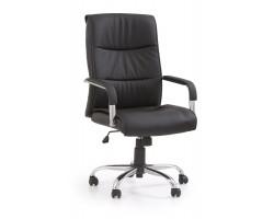 HAMILTON- fotel obrotowy gabinetowy czarne