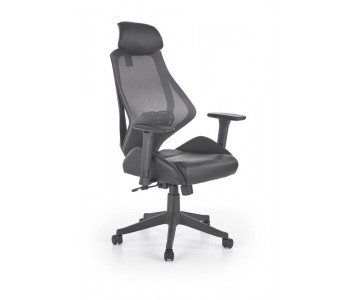 HASEL - fotel obrotowy gabinetowy czarny