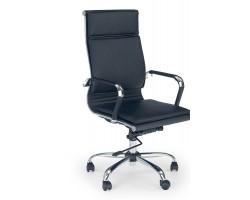 MANTUS - fotel obrotowy gabinetowy czarny