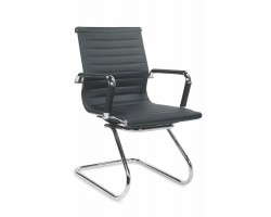 PRESTIGE SKID- fotel  gabinetowy czarny