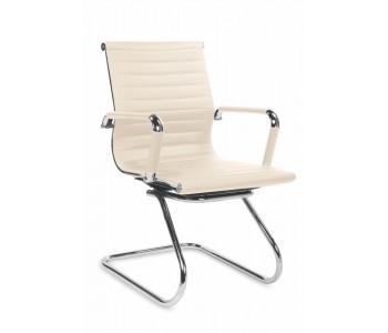 PRESTIGE SKID- fotel gabinetowy kremowy