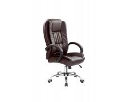 RELAX - fotel obrotowy gabinetowy brąz