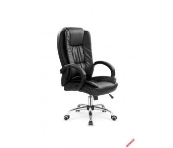RELAX - fotel obrotowy gabinetowy czarny
