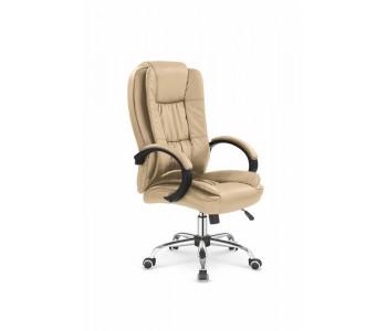 RELAX - fotel obrotowy gabinetowy beżowy