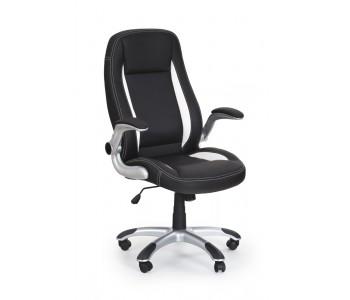 SATURN- fotel obrotowy gabinetowy czarny