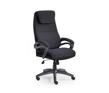 SIDNEY- fotel obrotowy gabinetowy czarny