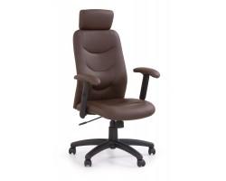 STILO - fotel obrotowy gabinetowy ciemny brąz
