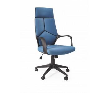 VOYAGER - fotel obrotowy gabinetowy niebiesko - czarny