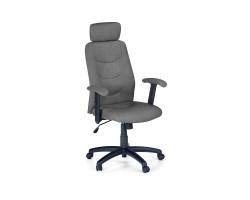 STILO (2)- fotel obrotowy gabinetowy ciemny popiel