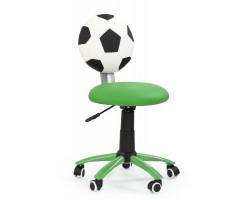 GOL - fotel młodzieżowy obrotowy zielony