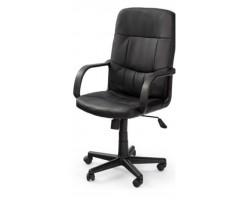 DENZEL - fotel pracowniczy obrotowy czarny