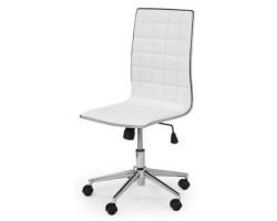 TIROL - fotel pracowniczy obrotowy biały