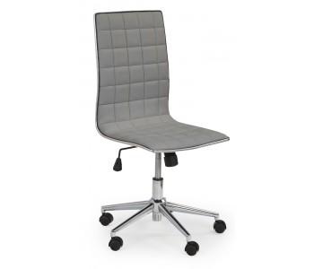 TIROL - fotel pracowniczy obrotowy popielaty