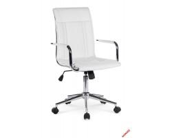 PORTO 2 - fotel pracowniczy obrotowy biały