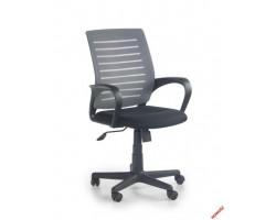 SANTANA - fotel pracowniczy czarno-popielaty