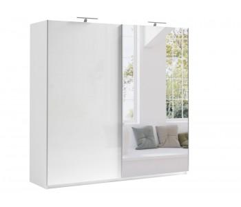 MOORE - Szafa przesuwna 220 x 211 cm - KONFIGURACJA Wnętrza i Frontów (a)