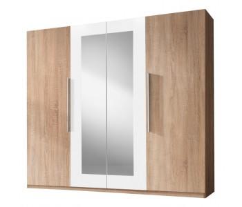 VERA - Szafa 228 x 214 4D Sonoma / biały ( 20)