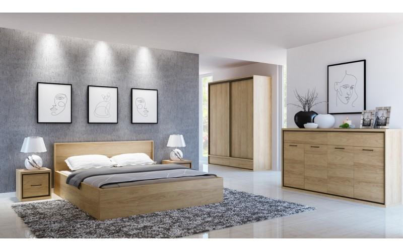 MEDIOLAN Sypialnia bez materaca