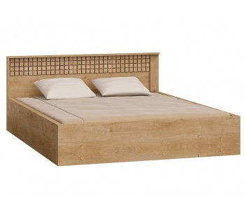 NATURAL (17)  Łóżko 160 cm bez materaca z pojemnikiem