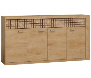 NATURAL (9) Komoda 191,5 x 99 cm