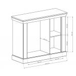 ANTICA - Komoda 114 x 95,5 (A2)