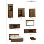 ANTICA -  Sypialnia 2 bez materaca