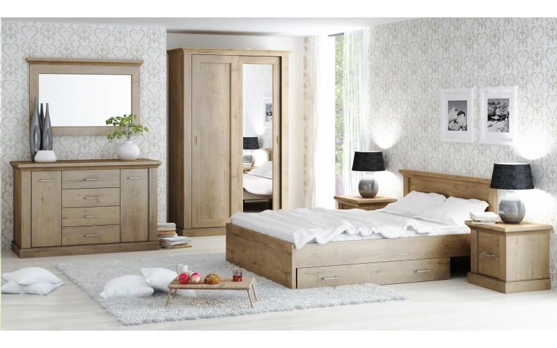 ANTICA -  Sypialnia bez materaca