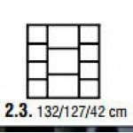 FILL Komoda 127 cm 4D1SZ (3)