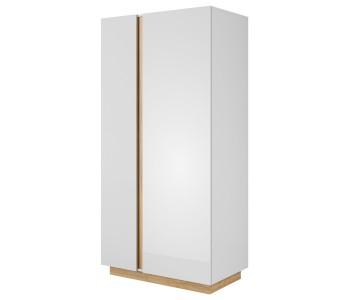 ARCO B – Szafa 96,5 x 193,5 (A) biały połysk