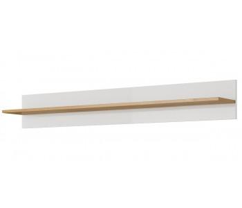 ARCO B – Półka (J) biały połysk