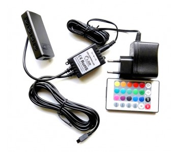 Kontroler oraz zasilacz do oświetlenia LED RGB